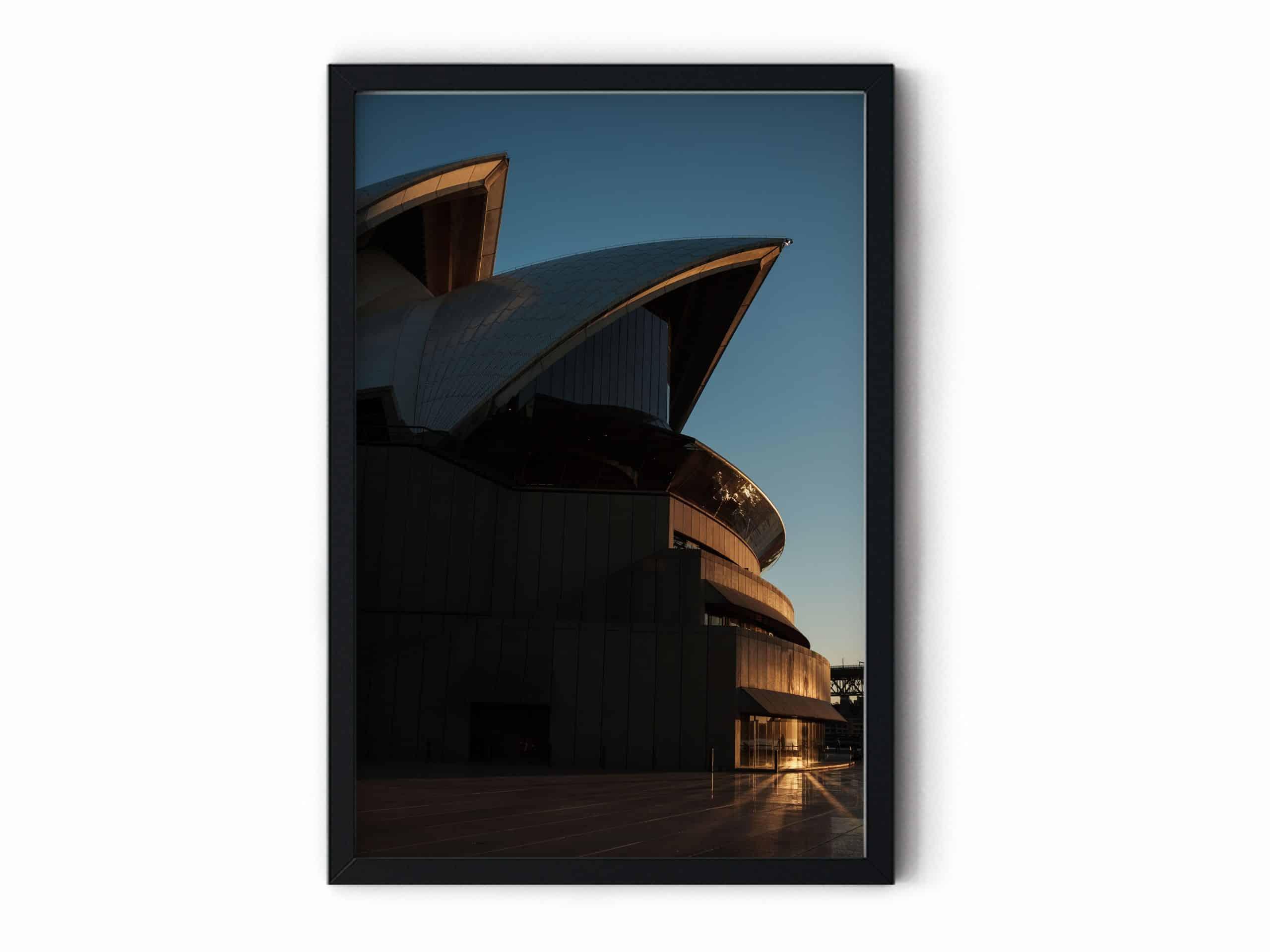 urban Opera Wall Art Print Australia